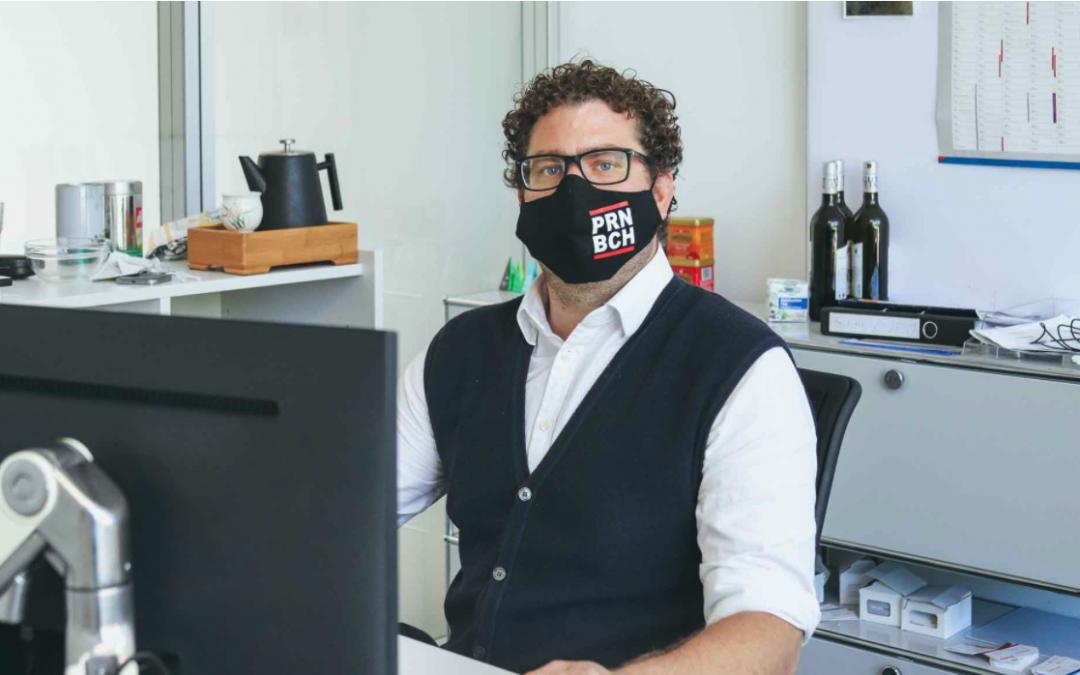 Von China nach Wolnzach: Der unglaubliche Weg unserer Masken
